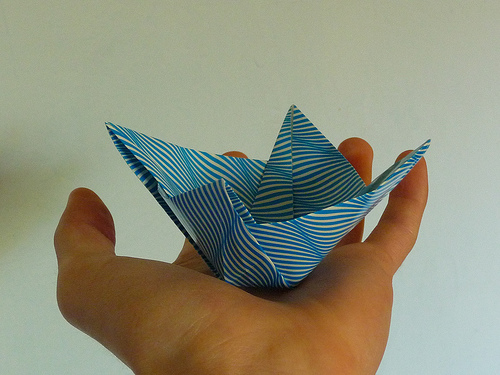 Zhoubi Bowl on Origami Weekly