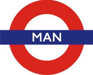 Underground Man Roundel