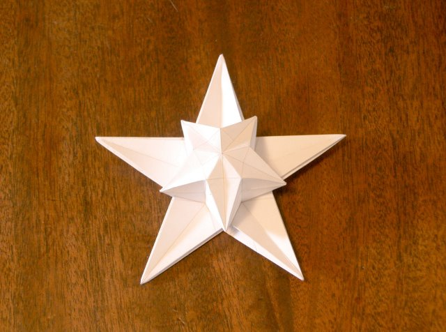 How To Make Origami Stars. Puff Star, Redux: